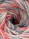 Fiber Content 100% Acrylic, White, Salmon, Light Pink, Light Lilac, Brand ICE, Yarn Thickness 3 Light  DK, Light, Worsted, fnt2-57743