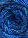 Fiber Content 100% Acrylic, Brand ICE, Blue Shades, Anthracite Black, Yarn Thickness 3 Light  DK, Light, Worsted, fnt2-57751