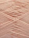 Fiber Content 50% Acrylic, 50% Bamboo, Light Pink, Brand ICE, Yarn Thickness 2 Fine  Sport, Baby, fnt2-57844