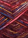 Fiber Content 55% Acrylic, 45% Polyamide, Yellow, Pink, Brand ICE, Burgundy, Blue, Yarn Thickness 4 Medium  Worsted, Afghan, Aran, fnt2-57883