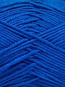 Fiber Content 50% Acrylic, 50% Bamboo, Brand ICE, Blue, Yarn Thickness 2 Fine  Sport, Baby, fnt2-57960