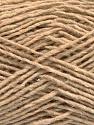 Fiber Content 50% Acrylic, 50% Wool, Brand ICE, Beige, fnt2-58044