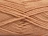 Fiber Content 50% Wool, 50% Acrylic, Light Salmon, Brand ICE, Yarn Thickness 4 Medium  Worsted, Afghan, Aran, fnt2-58189