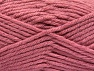 Fiber Content 72% Premium Acrylic, 3% Metallic Lurex, 25% Wool, Rose Pink, Brand ICE, Yarn Thickness 5 Bulky  Chunky, Craft, Rug, fnt2-58205