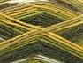 Fiber Content 50% Wool, 50% Acrylic, Brand ICE, Green Shades, Yarn Thickness 4 Medium  Worsted, Afghan, Aran, fnt2-58286