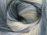 Fiber Content 50% Mohair, 50% Acrylic, Light Lilac, Brand ICE, Grey Shades, Cream, Yarn Thickness 2 Fine  Sport, Baby, fnt2-58361