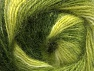 Fiber Content 50% Mohair, 50% Acrylic, Brand ICE, Green Shades, Yarn Thickness 2 Fine  Sport, Baby, fnt2-58364