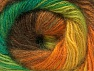 Fiber Content 50% Mohair, 50% Acrylic, Yellow, Orange, Brand ICE, Green Shades, Brown, Yarn Thickness 2 Fine  Sport, Baby, fnt2-58365