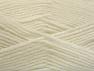 Fiber Content 50% Wool, 50% Acrylic, White, Brand ICE, Yarn Thickness 4 Medium  Worsted, Afghan, Aran, fnt2-58367
