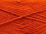 Fiber Content 50% Wool, 50% Acrylic, Orange, Brand ICE, Yarn Thickness 4 Medium  Worsted, Afghan, Aran, fnt2-58377