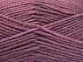 Fiber Content 50% Wool, 50% Acrylic, Lavender, Brand ICE, Yarn Thickness 4 Medium  Worsted, Afghan, Aran, fnt2-58381
