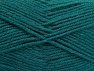Fiber Content 50% Wool, 50% Acrylic, Teal, Brand ICE, Yarn Thickness 4 Medium  Worsted, Afghan, Aran, fnt2-58385