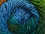 Fiber Content 60% Premium Acrylic, 20% Alpaca, 20% Wool, Turquoise, Brand ICE, Green Shades, Gold, Blue, Yarn Thickness 2 Fine  Sport, Baby, fnt2-58398