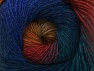 Fiber Content 60% Premium Acrylic, 20% Alpaca, 20% Wool, Teal, Red, Purple, Orange, Brand ICE, Blue, Yarn Thickness 2 Fine  Sport, Baby, fnt2-58399