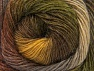 Fiber Content 60% Premium Acrylic, 20% Alpaca, 20% Wool, Brand ICE, Green Shades, Brown Shades, Yarn Thickness 2 Fine  Sport, Baby, fnt2-58417