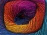 Fiber Content 60% Premium Acrylic, 20% Alpaca, 20% Wool, Rainbow, Brand ICE, Yarn Thickness 2 Fine  Sport, Baby, fnt2-58422