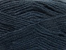 Fiber Content 50% Wool, 50% Acrylic, Brand ICE, Anthracite Black, Yarn Thickness 4 Medium  Worsted, Afghan, Aran, fnt2-58560