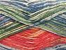 Fiber Content 50% Premium Acrylic, 50% Cotton, Salmon, Brand ICE, Green, Gold, Blue Shades, Yarn Thickness 2 Fine  Sport, Baby, fnt2-58690
