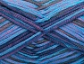 Fiber Content 67% Cotton, 33% Polyamide, Turquoise, Rose Pink, Navy, Brand ICE, Yarn Thickness 2 Fine  Sport, Baby, fnt2-58893