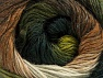 Fiber Content 60% Premium Acrylic, 20% Alpaca, 20% Wool, White, Brand ICE, Green Shades, Brown Shades, Yarn Thickness 2 Fine  Sport, Baby, fnt2-59053