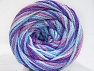 Fiber Content 50% Acrylic, 50% Polyamide, Orchid, Lilac, Brand ICE, Blue Shades, Yarn Thickness 5 Bulky  Chunky, Craft, Rug, fnt2-59349