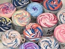 Cakes Air This mixed lot includes a total of 2000 gr (70.5 oz.) yarn. There is no standard for ball weight. You will get what you see in the photo. Fiber Content 50% Polyamide, 50% Acrylic, Brand ICE, fnt2-59520