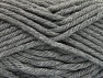 Fiber Content 100% Acrylic, Brand ICE, Dark Grey, Yarn Thickness 6 SuperBulky  Bulky, Roving, fnt2-59733