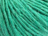 Fiber Content 50% Acrylic, 50% Wool, Brand ICE, Emerald Green, Yarn Thickness 4 Medium  Worsted, Afghan, Aran, fnt2-59812