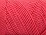Fiber Content 50% Wool, 50% Acrylic, Salmon, Brand ICE, Yarn Thickness 3 Light  DK, Light, Worsted, fnt2-59956