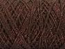 Fiber Content 90% Cotton, 10% Metallic Lurex, Brand ICE, Copper, Brown, Yarn Thickness 4 Medium  Worsted, Afghan, Aran, fnt2-60135