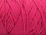 Fiber Content 100% Cotton, Brand ICE, Fuchsia, Yarn Thickness 4 Medium  Worsted, Afghan, Aran, fnt2-60157