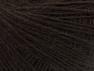 Fiber Content 50% Wool, 50% Acrylic, Brand ICE, Dark Brown, Yarn Thickness 2 Fine  Sport, Baby, fnt2-60180
