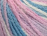 Fiber Content 50% Polyamide, 50% Acrylic, White, Pink, Light Lilac, Light Blue, Brand ICE, Yarn Thickness 4 Medium  Worsted, Afghan, Aran, fnt2-60366