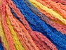 Fiber Content 50% Polyamide, 50% Acrylic, Yellow, Light Salmon, Brand ICE, Blue, Yarn Thickness 4 Medium  Worsted, Afghan, Aran, fnt2-60446