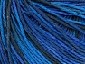 Fiber Content 100% Acrylic, Brand ICE, Blue Shades, Anthracite Black, Yarn Thickness 2 Fine  Sport, Baby, fnt2-60459