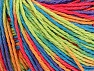 Fiber Content 100% Acrylic, Salmon, Purple, Orange, Brand ICE, Green, Blue, Yarn Thickness 2 Fine  Sport, Baby, fnt2-60470