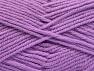 Fiber Content 50% Acrylic, 25% Wool, 25% Alpaca, Lilac, Brand ICE, Yarn Thickness 5 Bulky  Chunky, Craft, Rug, fnt2-60864