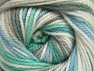 Fiber Content 100% Premium Acrylic, White, Mint Green, Brand ICE, Grey, Blue, Yarn Thickness 3 Light  DK, Light, Worsted, fnt2-60882