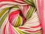 Fiber Content 100% Premium Acrylic, White, Salmon, Pink Shades, Brand ICE, Green Shades, Yarn Thickness 3 Light  DK, Light, Worsted, fnt2-60887