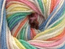 Fiber Content 100% Premium Acrylic, Pastel Rainbow, Brand ICE, Yarn Thickness 3 Light  DK, Light, Worsted, fnt2-60888
