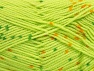 Fiber Content 100% Acrylic, Light Green, Brand ICE, Gold, Dark Green, Yarn Thickness 2 Fine  Sport, Baby, fnt2-60915