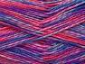 Fiber Content 100% Premium Acrylic, Salmon, Pink Shades, Lilac, Brand ICE, Blue Shades, Yarn Thickness 2 Fine  Sport, Baby, fnt2-60952