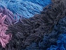 Fiber Content 95% Acrylic, 5% Polyester, Maroon, Lilac Shades, Brand ICE, Blue Shades, Yarn Thickness 6 SuperBulky  Bulky, Roving, fnt2-61122