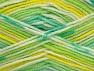 Contenido de fibra 100% Acrílico, Yellow, White, Brand ICE, Green Shades, fnt2-61342