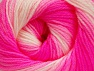 Fiberinnehåll 100% Baby akryl, White, Neon Pink, Light Pink, Brand ICE, Yarn Thickness 2 Fine  Sport, Baby, fnt2-61386