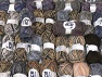 Winter Yarns This mixed lot includes a total of 2000 gr (70.5 oz.) yarn. There is no standard for ball weight. Also disregard any information on the labels. You will get what you see in the photo. Brand ICE, fnt2-61856