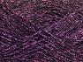 Περιεχόμενο ίνας 75% Βισκόζη, 25% Μεταλλικό lurex, Lilac, Brand ICE, Black, fnt2-62243