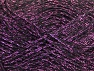 Fiber Content 75% Viscose, 25% Metallic Lurex, Lilac, Brand ICE, Black, fnt2-62243