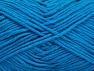 Contenido de fibra 50% Algodón, 50% Acrílico, Turquoise, Brand ICE, Yarn Thickness 3 Light  DK, Light, Worsted, fnt2-62748