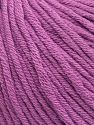 Contenido de fibra 50% Algodón, 50% Acrílico, Lavender, Brand ICE, Yarn Thickness 3 Light  DK, Light, Worsted, fnt2-62751